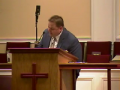Community Bible Baptist Church 9-1-2010 Wed PM Preaching 1of2