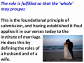 Ephesians - Lesson 30 - Marriage (The Role of the Wife)