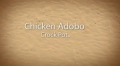 Chicken Adobo Crock Pot
