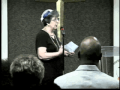 Rappin Joyce Cook of Trinity World Outreach Center Louisville KY