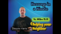 Message in a Minute -Is Jesus your Neighbor?