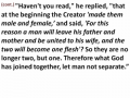 Ephesians - Lesson 32 - Marriage (God's Perspective)