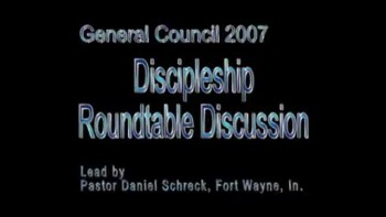 Discipleship Roundtable 2007