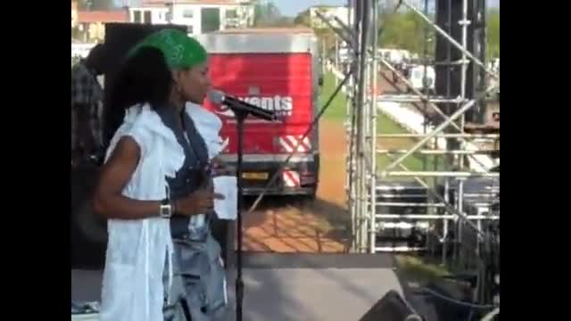 Nicole C Mullen singing Redeemer In Uganda in the language of Luganda