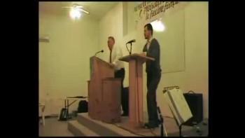 Pastor Paul Hamilton Preaching in Romania
