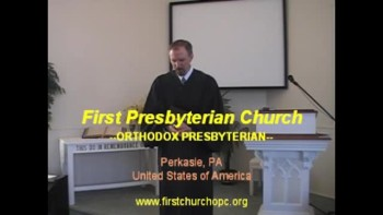 "Sermon: ""Lessons from the Falling Rain,"" Part 2. First Presbyterian Church Perkasie"