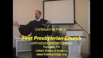 "Sermon: ""From Cradle to Grave,"" 10/17/2010. First Presbyterian Church Perkasie"