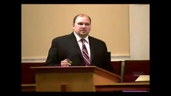 Community Bible Baptist Church 10-24-2010 - Sun PM Preaching