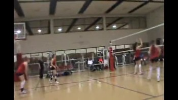 Montgomery College Volleyball Team 2010