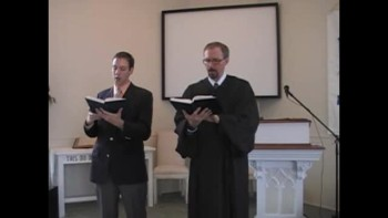 "Hymn: ""O Quickly Come, Dread Judge,"" Trinity Hymnal #243. First Presbyterian Church, Perkasie"
