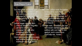 Martin Luther  The Protestant Reformer