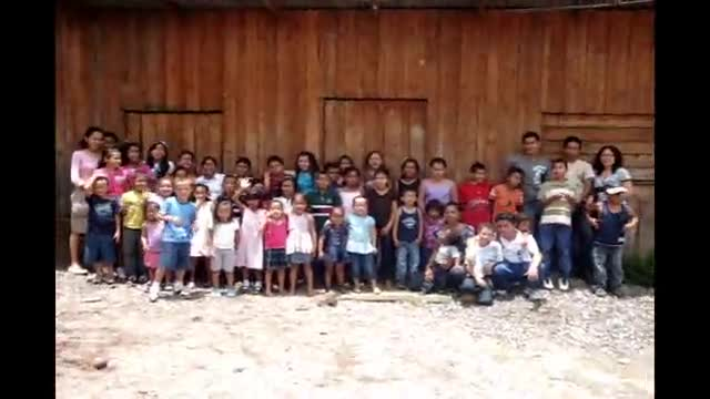 Greetings New Children Center Honduras