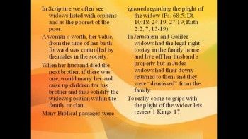 Bible Study - Mk. 12:41-44 The Widow's Offering