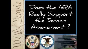 DOES THE NRA SUPPORT THE 2ND AMENDMENT? ~ www.RichardAberdeen.com