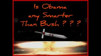 IS OBAMA ANY SMARTER THAN BUSH? ~ www.RichardAberdeen.com