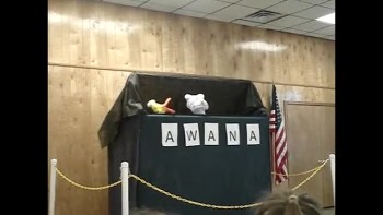AWANA Kick-Off & Ice Cream Social Pt 1 - Puppet Skit 1