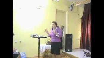 14/11/2010 Воскресная проповедь. Миссионер Наталья Скала.