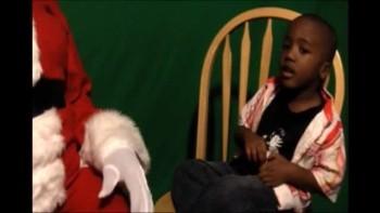 "Christmas Santa vs Jesus ""He Can 1"" Damone & Demetrius"
