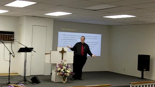 Sunday School 11-14-2010