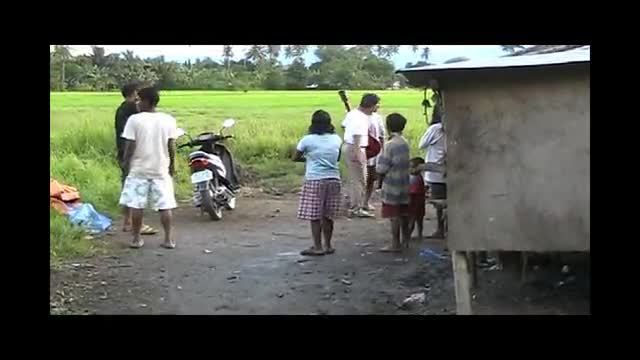 Ministry to a Mangyan Tribe