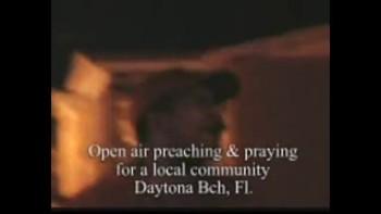 Ambassador Monzell open air preaching & praying
