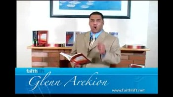 """Pastor Glenn Arekion and the book """"The Blood of Favor part"""" 3"""