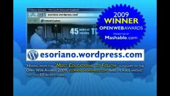 Bro. Eli Soriano's blog was hailed as The Most Educational to Follow