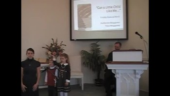 "Hymn: ""Can a Little Child Like Me,"" Trinity Hymnal #645. First Presbyterian Church Perkasie"