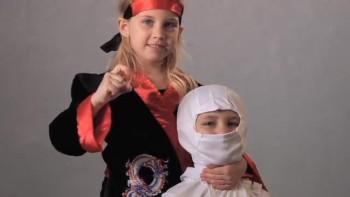 Ninjas Know the 10 Commandments