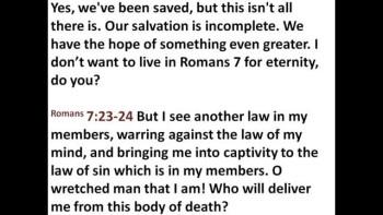 Ephesians - Lesson 40 - The Helmet of Salvation