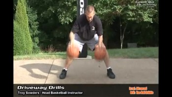 Two Ball Dribble Drill (Advanced Level): Goalrilla Basketball Academy Driveway Drills