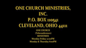 One Church Ministries You Are Invited!