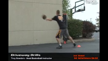 Wall, Ball and Slide Defensive Drill (Advanced Level): Goalrilla Academy Driveway Drills