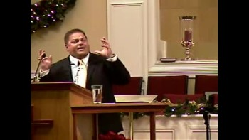"""The Good Samaritan"" - 12-5-2010 - Sun PM Preaching Community Bible Baptist Church 1of2"