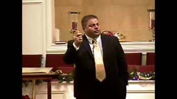 """The Good Samaritan"" - 12-5-2010 - Sun PM Preaching Community Bible Baptist Church 2of2"