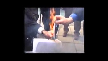 Christians Burn Their TV Licenses Over Jerry Springer