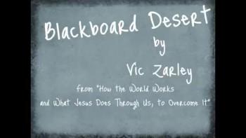 Blackboard Desert by Vic Zarley