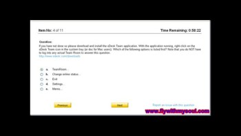 Odesk Readiness Test Answers