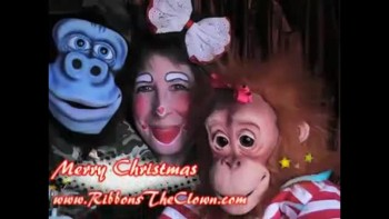 A CLOWNS MERRY CHRISTMAS