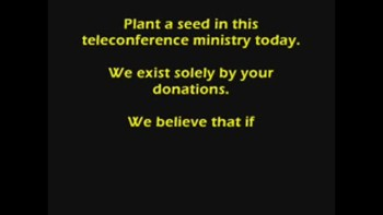 One Church Ministries (Speaking scedule 12/13-12/17