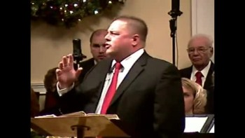 """JOY Has Dawned for Simeon"" 12-12-2010 - Sun AM Preaching  - Community Bible Baptist Church 1of2"