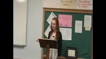 Tribute Speech