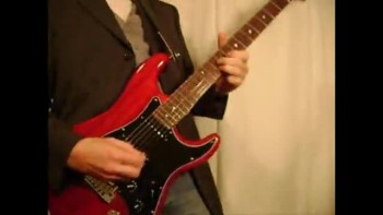 Mahogany Strat blues solo