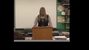 Hannah Stark's Persuasive Speech