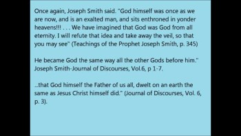 What Joseph Smith Taught about God.