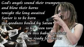 Flyleaf - Christmas Song (Lyrics Onscreen Video)