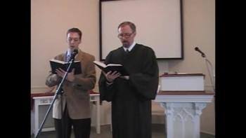 "Hymn: ""Silent Night,"" Trinity Hymnal #161. First OPC Perkasie MacLaren"