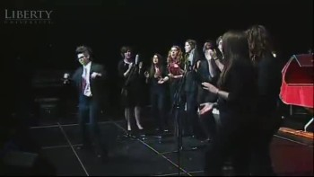 Bed Intruder Christmas Carol Song by Liberty University (LU) 2010 Christmas Coffeehouse
