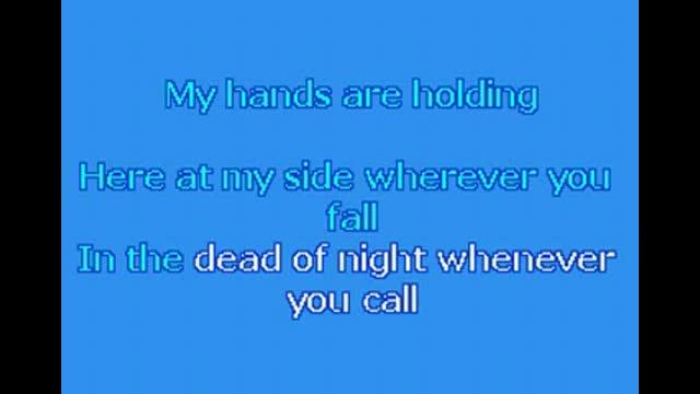 By Your Side Karaoke