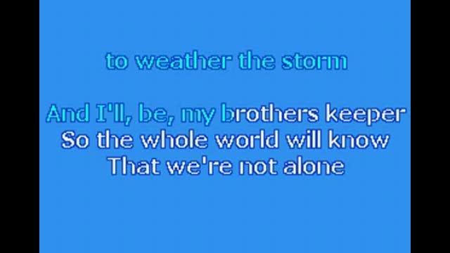 Hold Us Together Karaoke